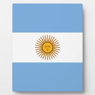 Argentina Flag - Bandera Argentina Plaque