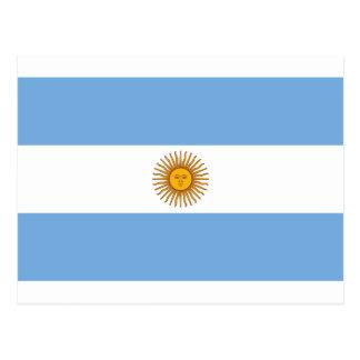 Argentina Flag - Bandera Argentina Postcard