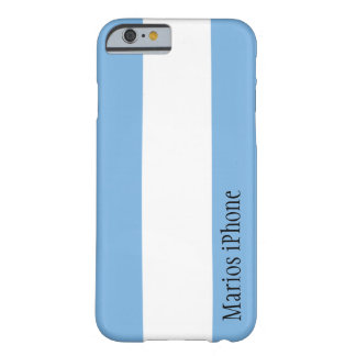 Argentina Flag Customizable iPhone 6 case