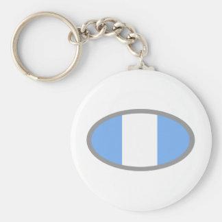 Argentina Flag design! Keychain