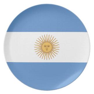 Argentina Flag Dinner Plate