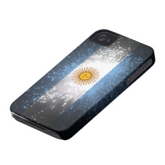 Argentina Flag Firework iPhone 4 Cover
