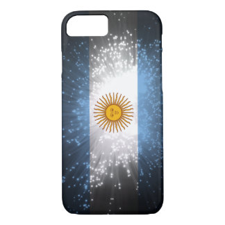 Argentina Flag Firework iPhone 8/7 Case