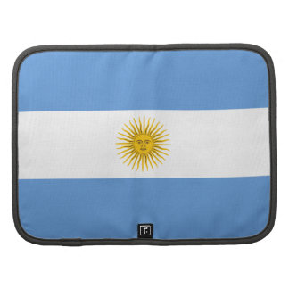 Argentina Flag Folio Organizer