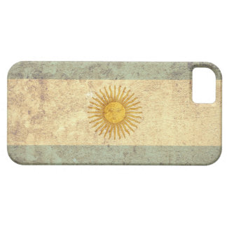 Argentina Flag - Grunge iPhone SE/5/5s Case