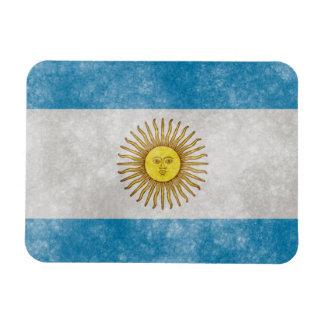 Argentina Flag Grunge Style Magnet