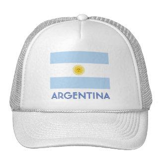Argentina flag trucker hat