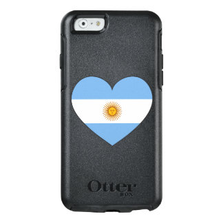 Argentina Flag Heart OtterBox iPhone 6/6s Case