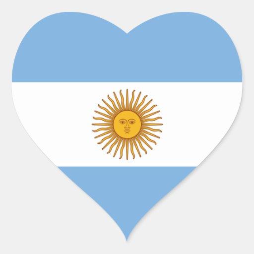 Argentina Flag Heart