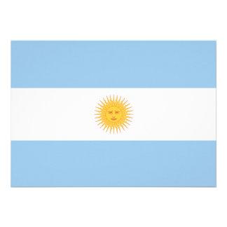 Argentina Flag Personalized Invites