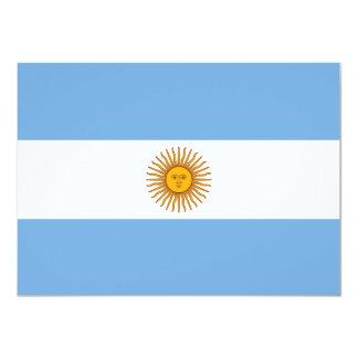 Argentina Flag Invitation