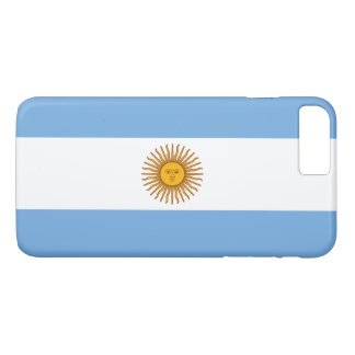 Argentina Flag iPhone 8 Plus/7 Plus Case