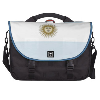 Argentina Flag Laptop Commuter Bag