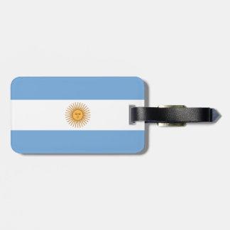 Argentina Flag Luggage Tag
