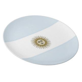 Argentina Flag Melamine Plate