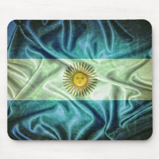 Argentina flag. mouse pad