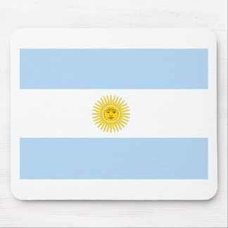 Argentina Flag Mouse Pad