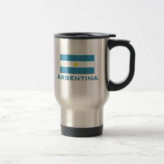 Argentina Flag Coffee Mugs