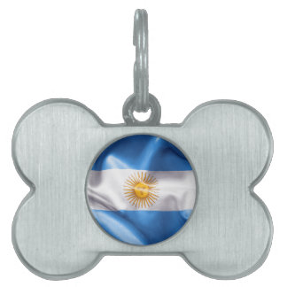 Argentina Flag Pet Tag