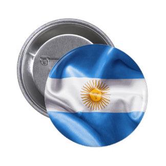 Argentina Flag Pinback Button