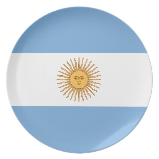 Argentina Flag Plate