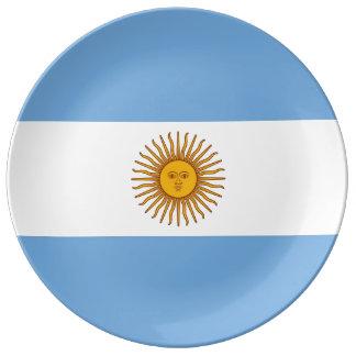 ARGENTINA Flag Porcelain Plate