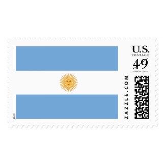 Argentina Flag Postage Stamp