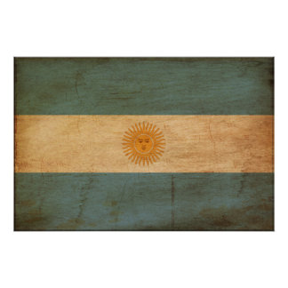 Argentina Flag Posters