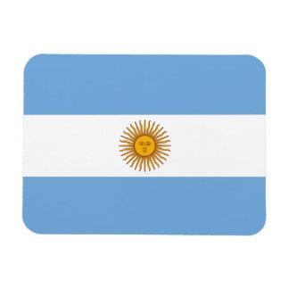 Argentina Flag Premium Magnet