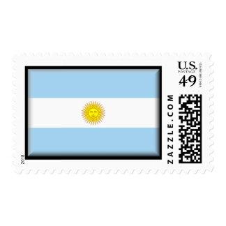 Argentina Flag Stamp