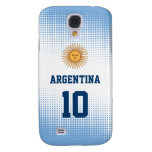 Argentina Flag Sun of May - Custom Player Number Galaxy S4 Cover