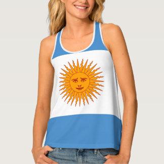 Argentina Flag Tank Top