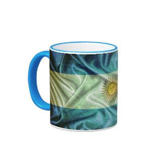 Argentina flag. taza