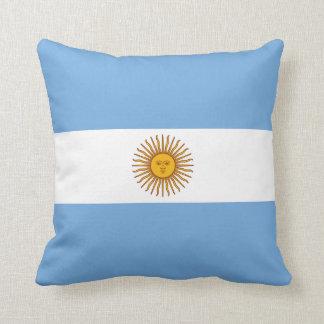 Argentina Flag Throw Pillow