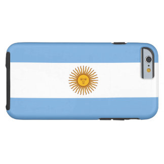 Argentina Flag Tough iPhone 6 Case