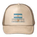 Argentina flag trucker hats