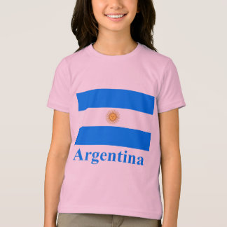 Argentina Flag with Name T-Shirt