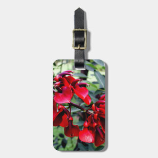 Argentina Flowers Luggage Tag