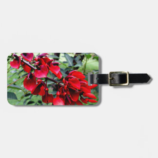 Argentina Flowers Travel Bag Tags