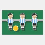 Argentina foossball etiqueta