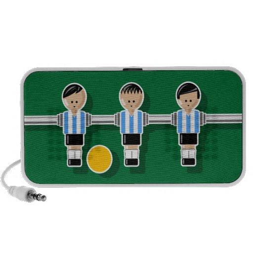Argentina foossball PC altavoces