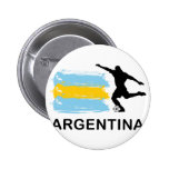 Argentina Football Buttons