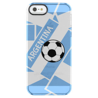 Argentina Football Clear iPhone SE/5/5s Case