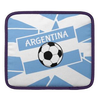 Argentina Football Flag iPad Sleeve