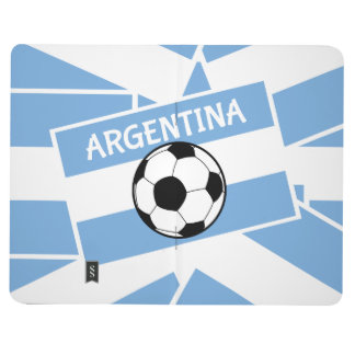 Argentina Football Flag Journal