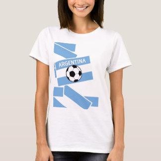 Argentina Football Flag T-Shirt