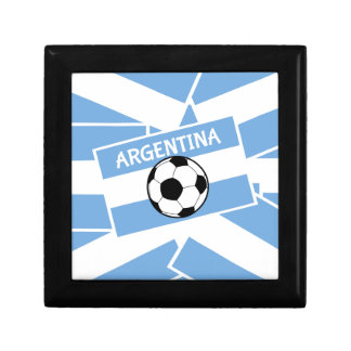 Argentina Football Jewelry Box