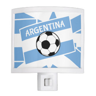 Argentina Football Night Light