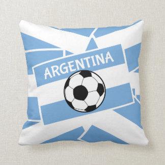 Argentina Football Pillow