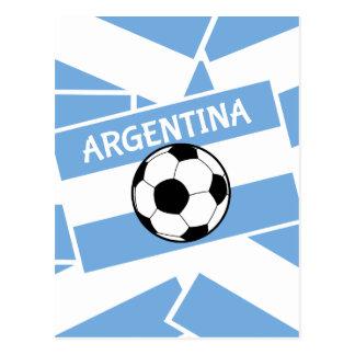 Argentina Football Postcard